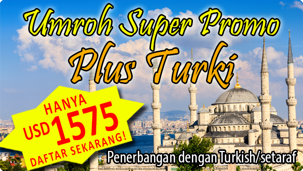 Umroh Super Promo Plus Turki usd 1575 alsha tours  - 3