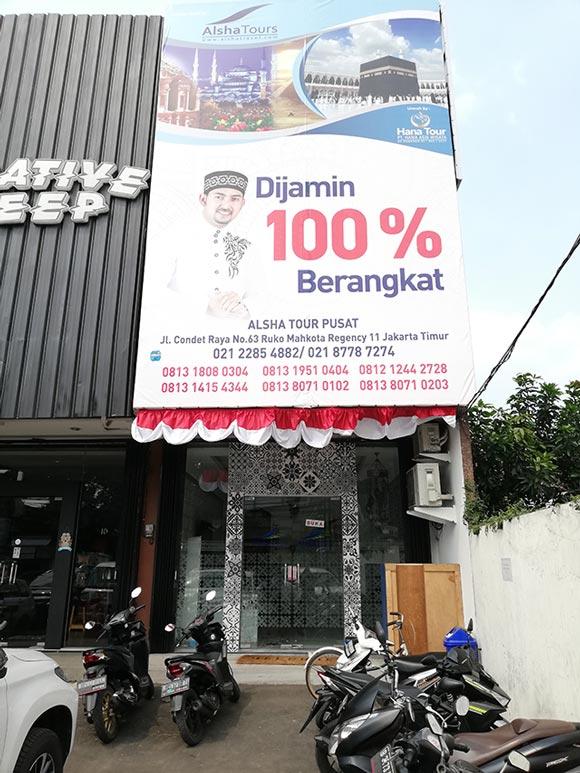 Kantor Alsha Tour Jakarta