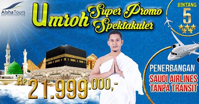 Umrah Murah Super Promo Spektakuler