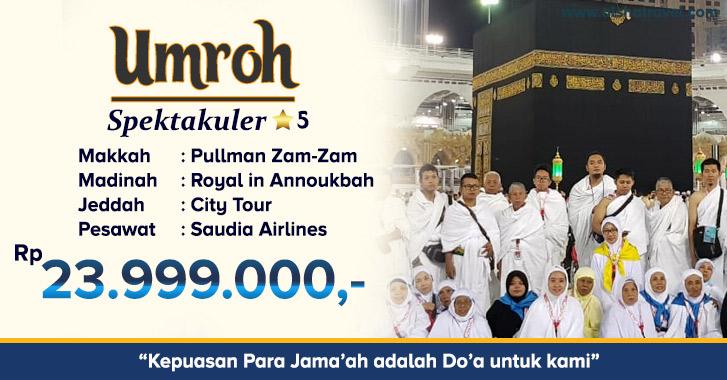 Tarif Umroh Jakarta 2019 Alsha