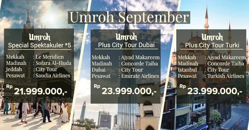 Umroh September Jakarta 2019