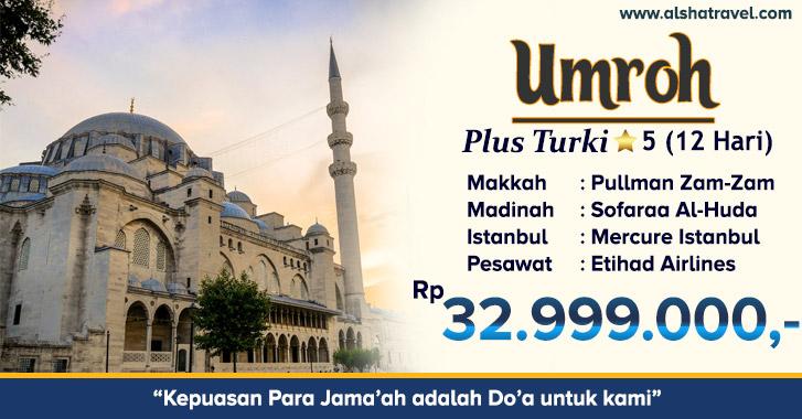 Umroh Plus Turki Jakarta 2019