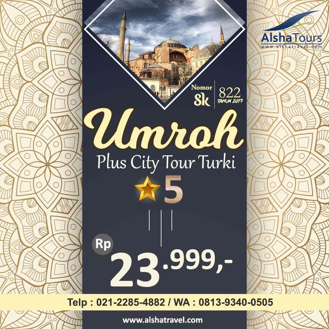 Umrah Plus Turki 2019 2020 Jakarta