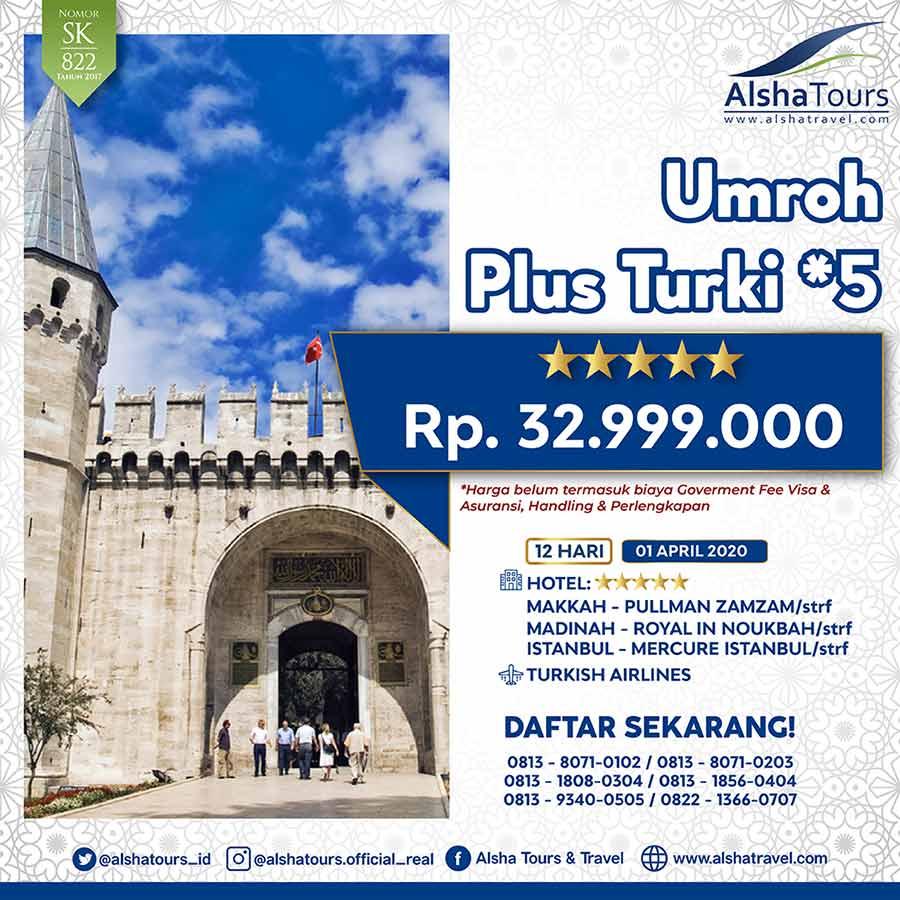 Info Umrah Plus Turki 32Jt