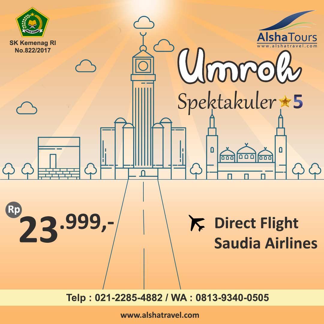 Promo Umroh Jakarta Alsha Tour