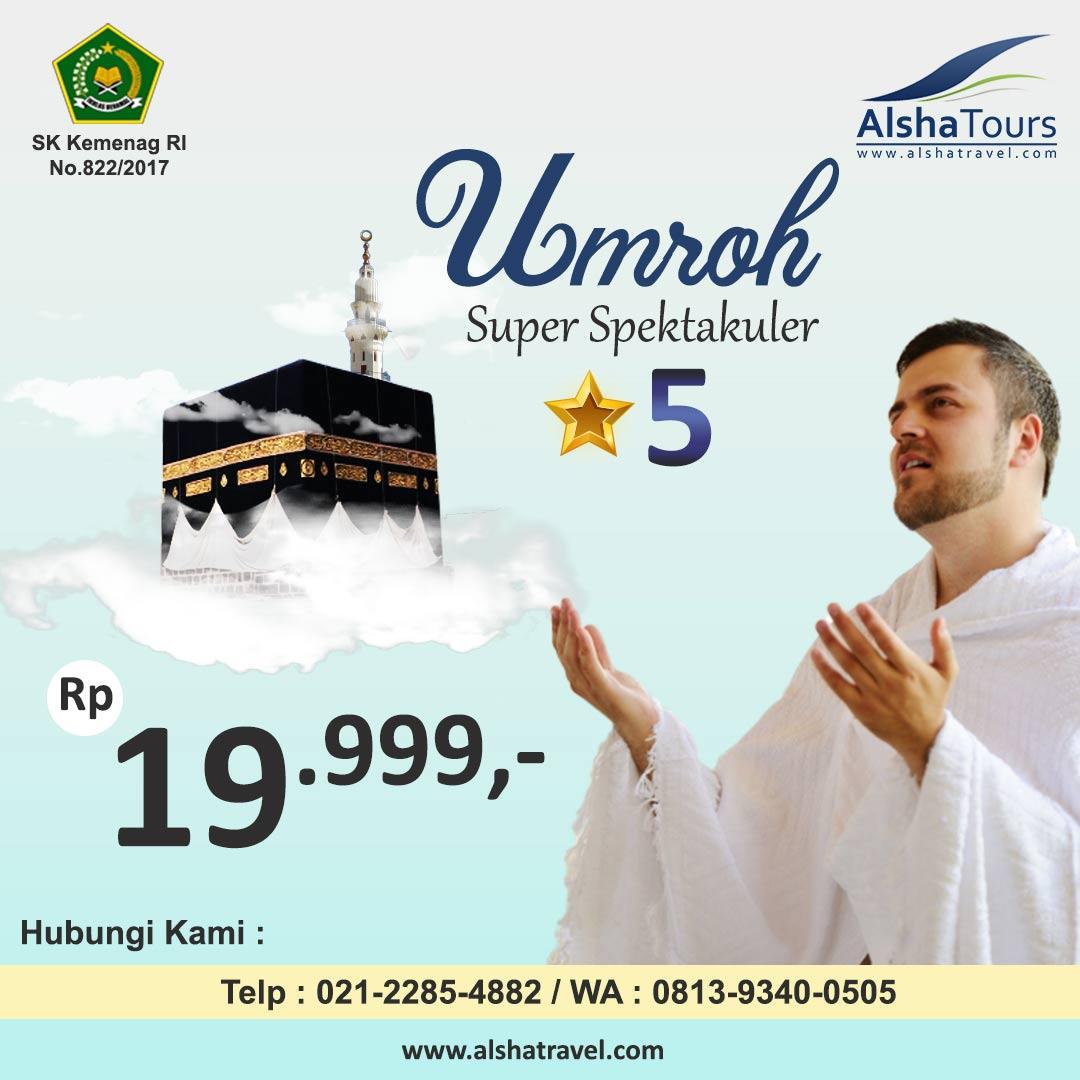 Umroh Hemat Jakarta 2020 Alsha Tours