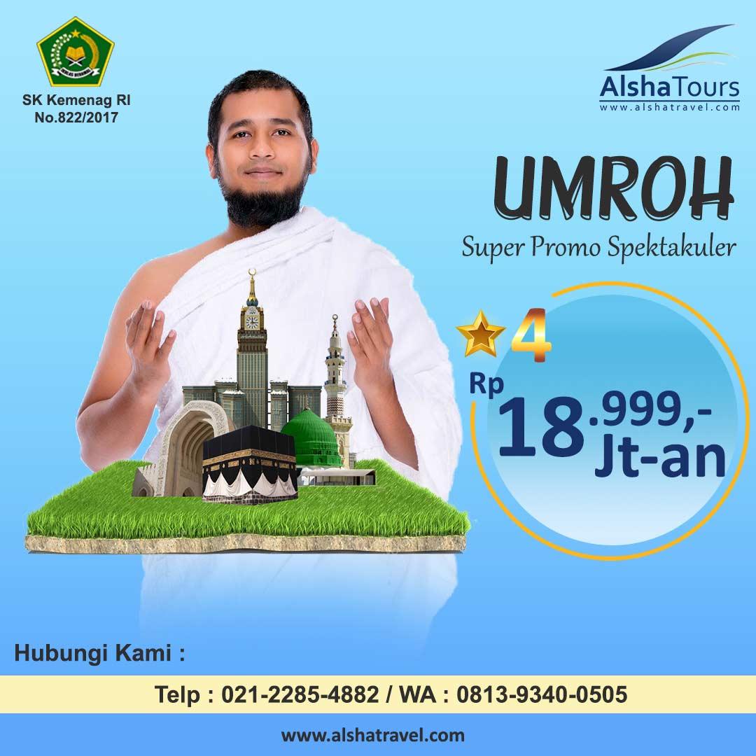 Umroh Promo Jakarta 2020 Alsha Tours
