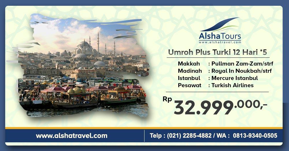 Umroh Plus Turki 2020 Jakarta