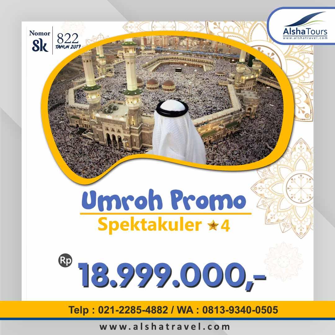 Umroh Promo Jakarta 2020 2021 Alsha Tours