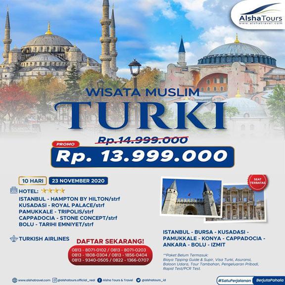 wisata tour turki 2020