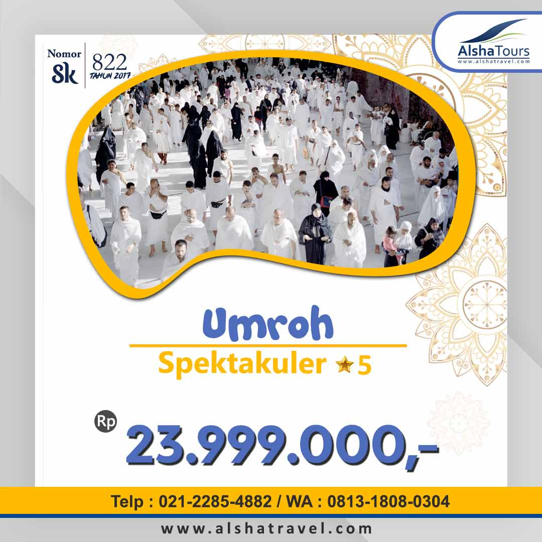 Promo Umroh Jakarta 2021 2022 Alsha Tour