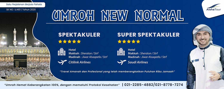 Umroh Murah 2021 Promo Hemat Jakarta new normal